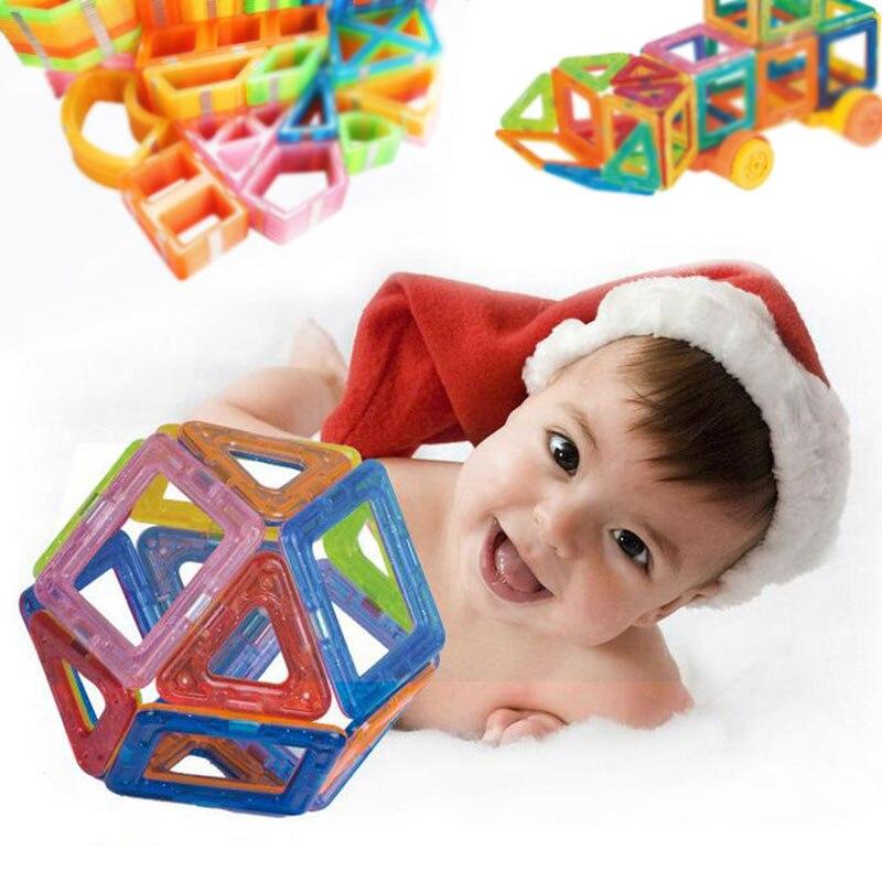 42 stücke-185 stücke Mini Magnetische Designer Bau Magnet Block Set Modell Gebäude Spielzeug Kunststoff Pädagogisches Spielzeug Für Kinder geschenke