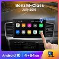 Автомагнитола AWESAFE PX9 для Mercedes-Benz M Class W166 ML 2011 -2015, мультимедийный видеоплеер с GPS, 2din, 2 din, Android 10,0
