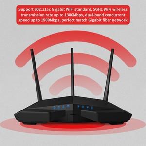 Image 5 - GLVISION GLC18 Router Wifi Senza Fili, AC1900Mbps WIFI Ripetitore Dual Band 2.4GHz/5GHz Con USB3.0 802.11ac A Distanza di Controllo APP