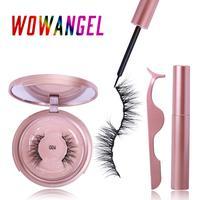Magnetic False Eyelashes 3D False Eyelashes Magnetic Liquid Eyeliner Magnetic Liquid Eyeliner Eye Makeup Tool