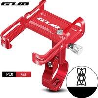 GUB P10 P20 P30 G81 G-81 - 81 supporto per telefono per bici 3.5 7.5 pollici dispositivo supporto per telefono per bicicletta supporto per Moto per Scooter supporto per manubrio