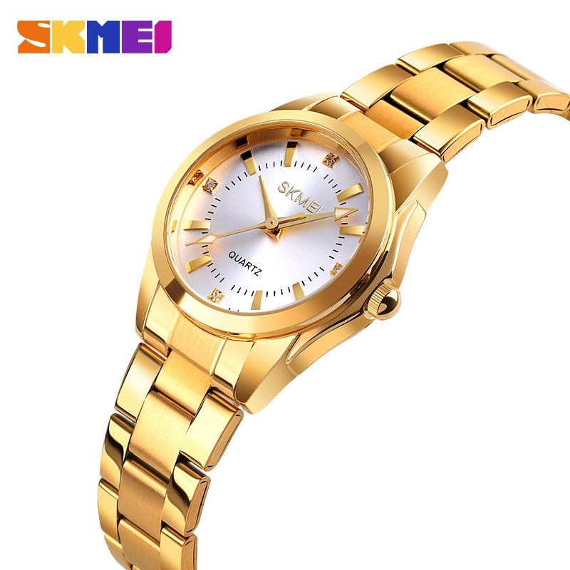 2020 SKMEI Casual Women Romantic Quartz Watches Luxury Female Girl Clock Waterproof Ladies Wristwatches Relogio Feminino 1620