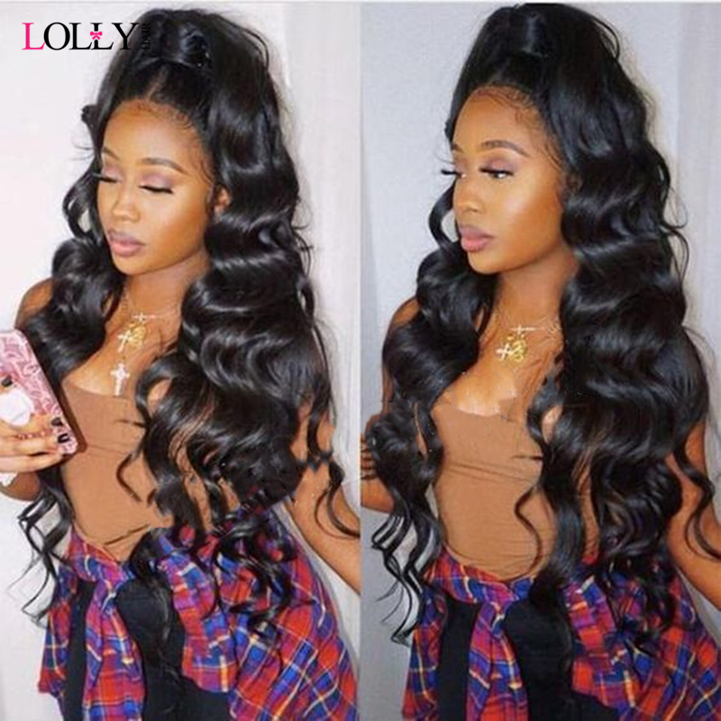 Transparent Lace Frontal Wig  Brazilian Closure Wig Remy 6
