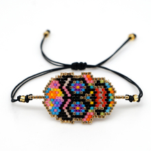 Go2boho MIYUKI Bracelet Mexican Skull Pulseras Mujer Moda 2019 Colorful Bracelets Women Jewelry Etsy miyuki Joyeria Handwoven