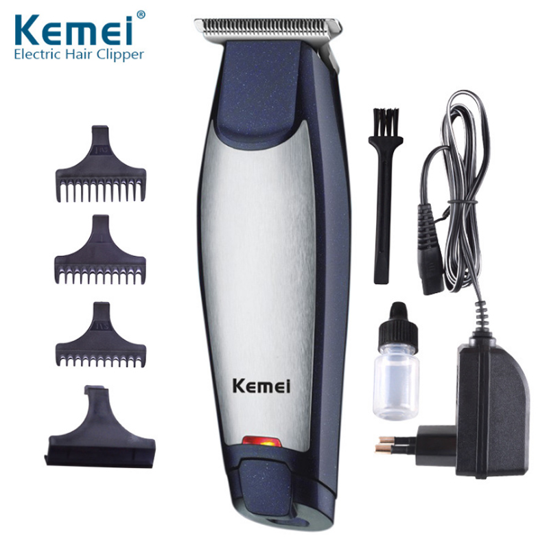 Electric Hair Clipper KM-5021 Professional Hair Trimmer Mute Rechargeable Shaver Men's Hair Cutting
