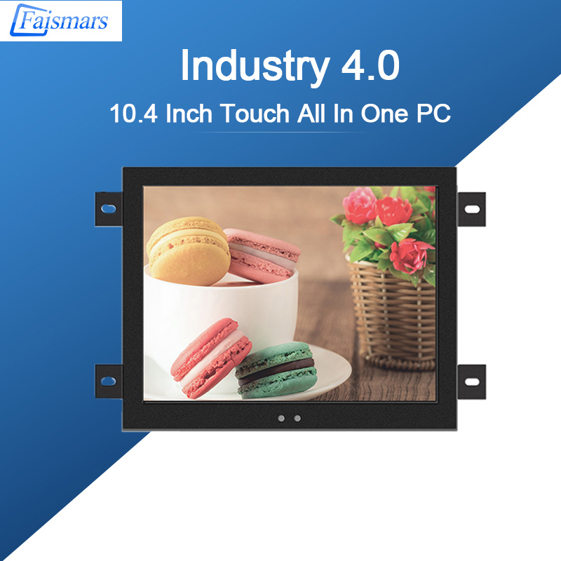 10.4 inch PC All In One Industrial Mini Computer Touch Screen Panel PC Intel Core I7 8th 8565U processor 1.8GHz WIFI Tablet PC