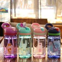 My Child Sport Bottle Water Bottle With Straw High Quality Plastic Kid Drinkware Children Water Bottles BPA Free