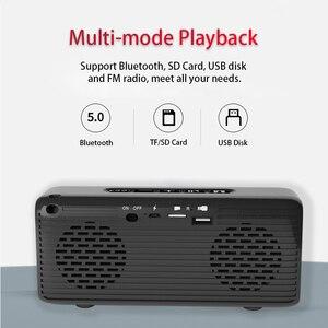 Image 4 - Solar Portable Bluetooth Speaker FM Radio Soundbar stereo Wireless subwoofer Outdoor Sports Waterproof USB Speakers caixa de som