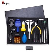 Набор инструментов для ремонта часов RUIPAI, 39 шт., пружинная отвертка для снятия крепежа