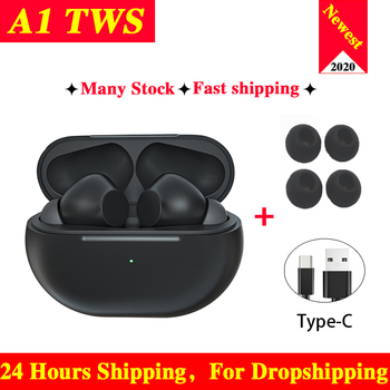 A1 Tws Pro True Wireless Bluetooth Mini Bass Earphone Bluetooth Headset Sports Earbuds With Charging Box Stereo Headse Auricular