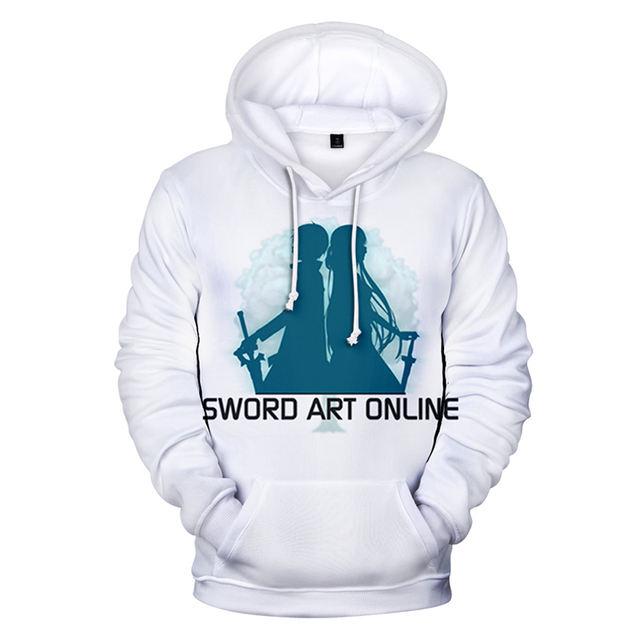 SWORD ART ONLINE THEMED 3D HOODIE (26 VARIAN)