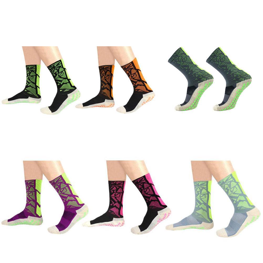 Socks Mid-Calf Anti Slip Soccer Rubber Band Pure Cotton Equipment Sports Team Fitness Comfortable