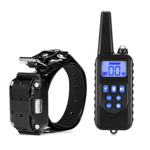 Remote Control Dog Training Collar Rechargeable Waterproof Dog Shock Collar With Beep Vibration Shock Bark Collar Pet Accessory