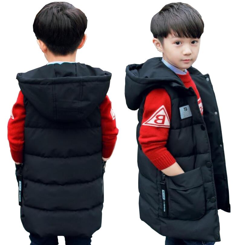 Vest Jacket Waistcoat Teenage Baby-Girls Kids Children Spring Cotton Hooded 2-13T Snowsuit