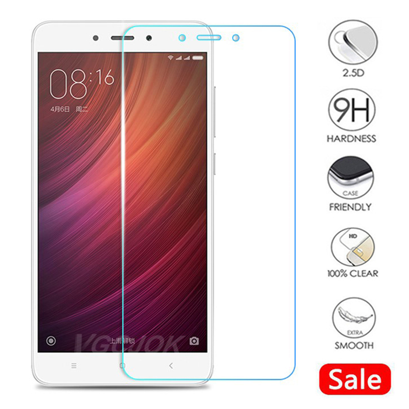 9H Protective Glass For Xiaomi Redmi 5 Plus 4A 4X 5A 6 6A 7A Go S2 Tempered Glass For Redmi Note 4 4X 5 5A Screen Protector Film