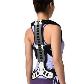 Posture Corrector Back Support Comfortable Back And Shoulder Brace For Men Women - Device To Improve Bad Posture Protection Belt