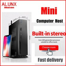 Mini PC computer Intel Core i3 i5 i7 Mini PC Windows 10 Industrial Pc Linux Barebone System Itx Pc Desktop Computer HTPC HDMI VG