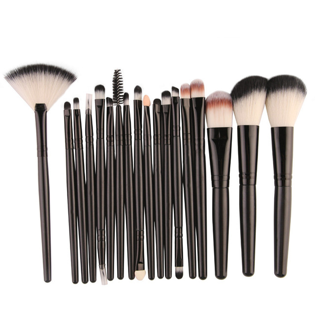 Hot Makeup Brushes Set 20/18/15/2Pcs Eye Shadow Foundation Powder Eyeliner Eyelash Lip Make Up Brush Cosmetic Beauty Tool Kit 4