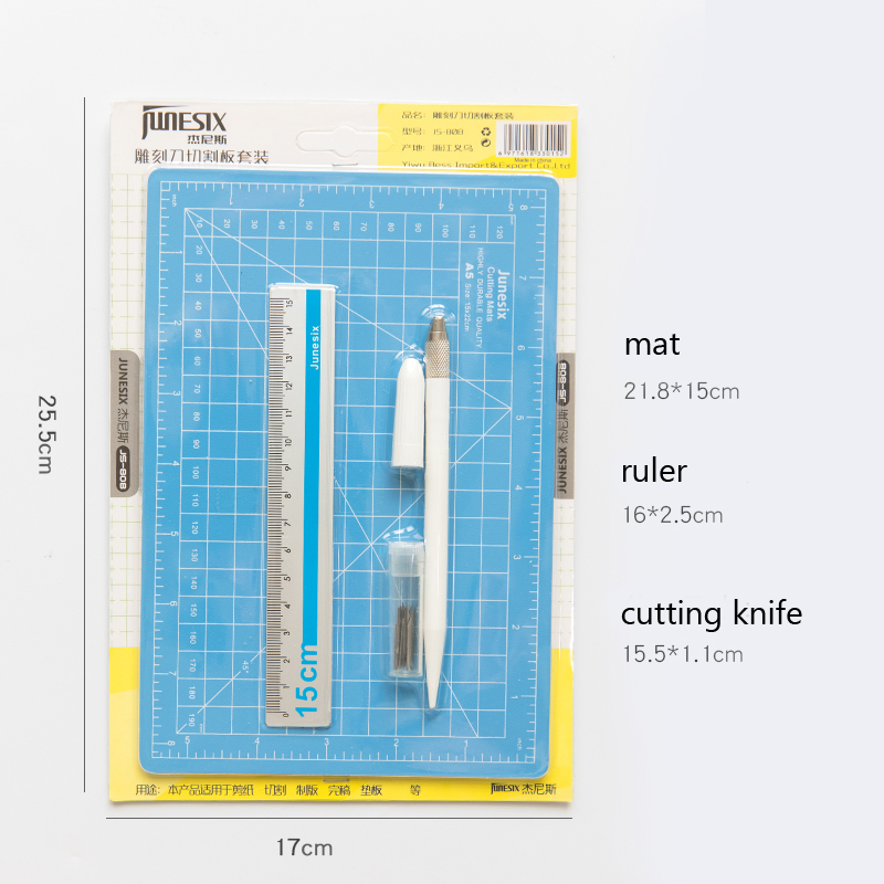 A5 PVC Cutting Mat Set Double-sided Plate Design Engraving Board Mat Handmade Patchwork Tools Diy Accessory Cut Pad