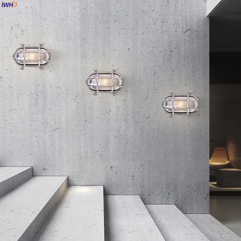 IWHD Industrial de Loft Lâmpada de Parede