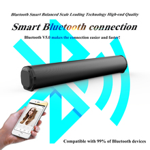 10W Wireless Bluetooth Soundbar Stereo Speakers Home Theater Audio TV Sound Bar Surround Sound Column Dual Subwoofers BS10A