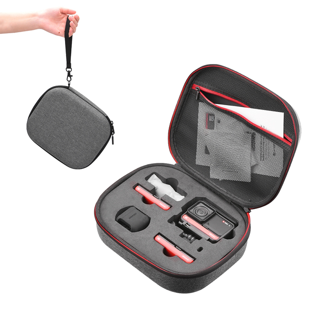 Portable carry case portable storage bag for Insta360 ONE R protection Hardshell bag for Insta360 ar action camera accessories