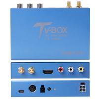 Carbar Car Moible DVB T2 DVB T Digital TV Receiver 2 Tuner Antenna H.265 for Car DVD with USB HDMI Support 160km/h