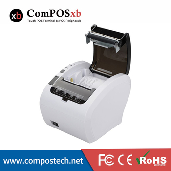 Wholesales Thermal Printer for retailers black thermal printer high quality support USB RS232 LAN interface 80mm thermal printer