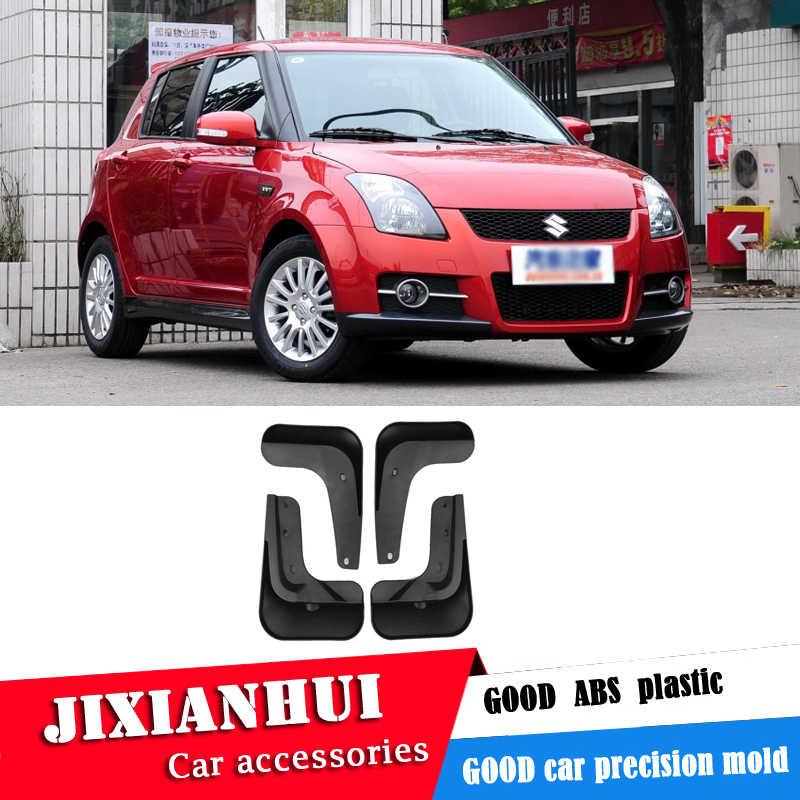 Suzuki swift 2010-2012 Mudflaps Splash muhafızları ön arka çamur flep çamurluklar çamurluk modifiye özel