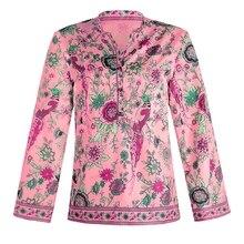Plus Size Women Clothing Long Sleeve Blouse 2020 Autumn Fash