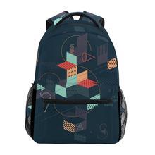 ALAZA 2019 Hot Sale Printed Travel Bag Backpack Printing Teenage Girl School Women Large Capacity Student