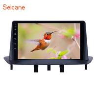 Seicane 9 inch HD Touchscreen GPS Navigation Car Radio Android 8.1 Bluetooth for Renault Megane 3 2009 2014 support Carplay SWC