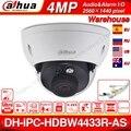 Dahua IPC-HDBW4433R-AS 4MP CCTV IP камера Поддержка IK10 IP67 аудио вход/выход и сигнал тревоги порт PoE камера ИК 30 м WDR безопасности