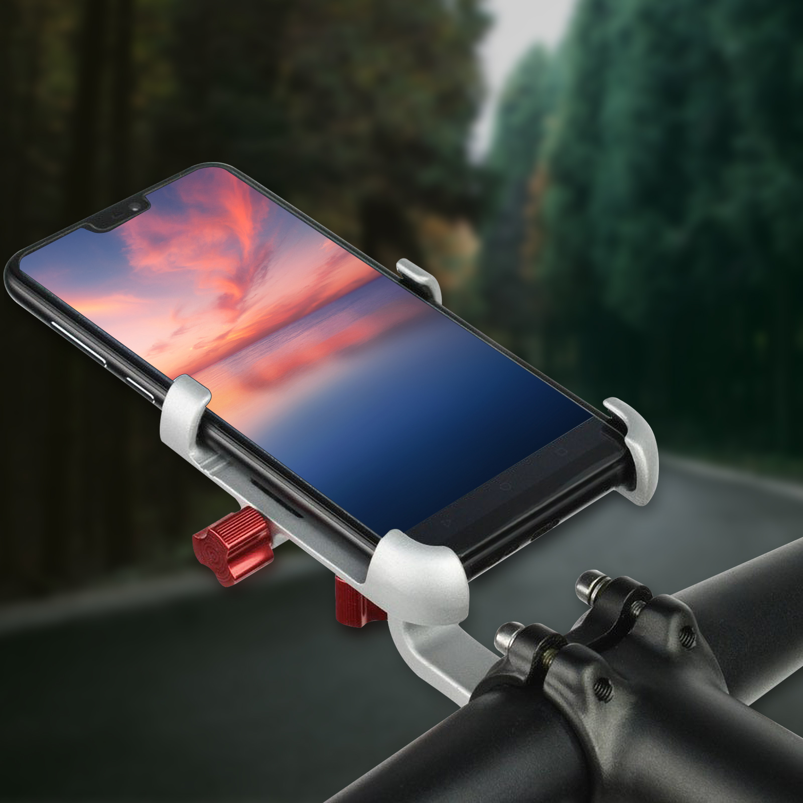 Promend Bike Mobile Phone Holder With 360 Degree Rotatable For Bike Car Bicycle 15