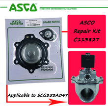 C113827 1,5 дюйма Двойная диафрагма Ремонтный комплект для ASCO G353A047 импульсный клапан