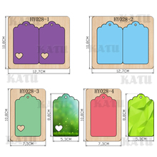 Tag Card  2019 new wooden mould cutting dies for scrapbooking Thickness/15.8mm