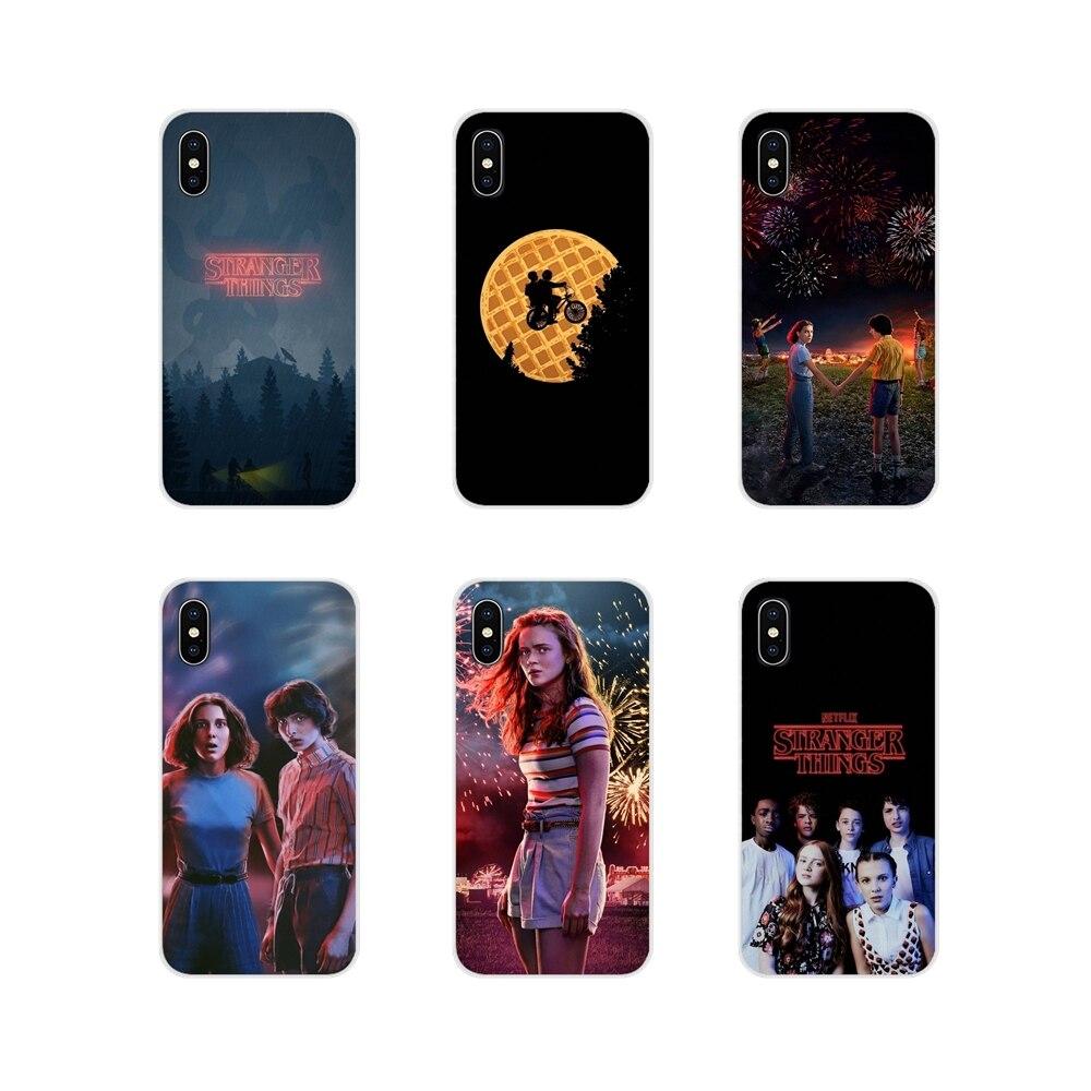 Stranger Things Season 3 Accessories Phone Shell Covers For Motorola Moto X4 E4 E5 G5 G5S G6 Z Z2 Z3 G G2 G3 C Play Plus