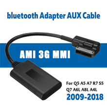 Media-Interface AMI Mmi Bluetooth Audi Aux-Cable Moduleadapter Wireless for Q5 A5 A7