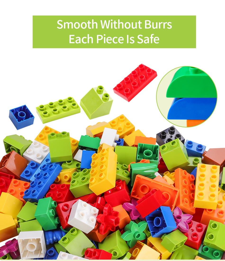 figura acessórios compatível legoes duploes crianças brinquedos