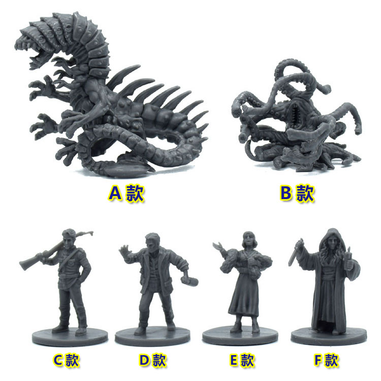 Plastic Model Kits Mansions Of Madness Streets Of Arkham