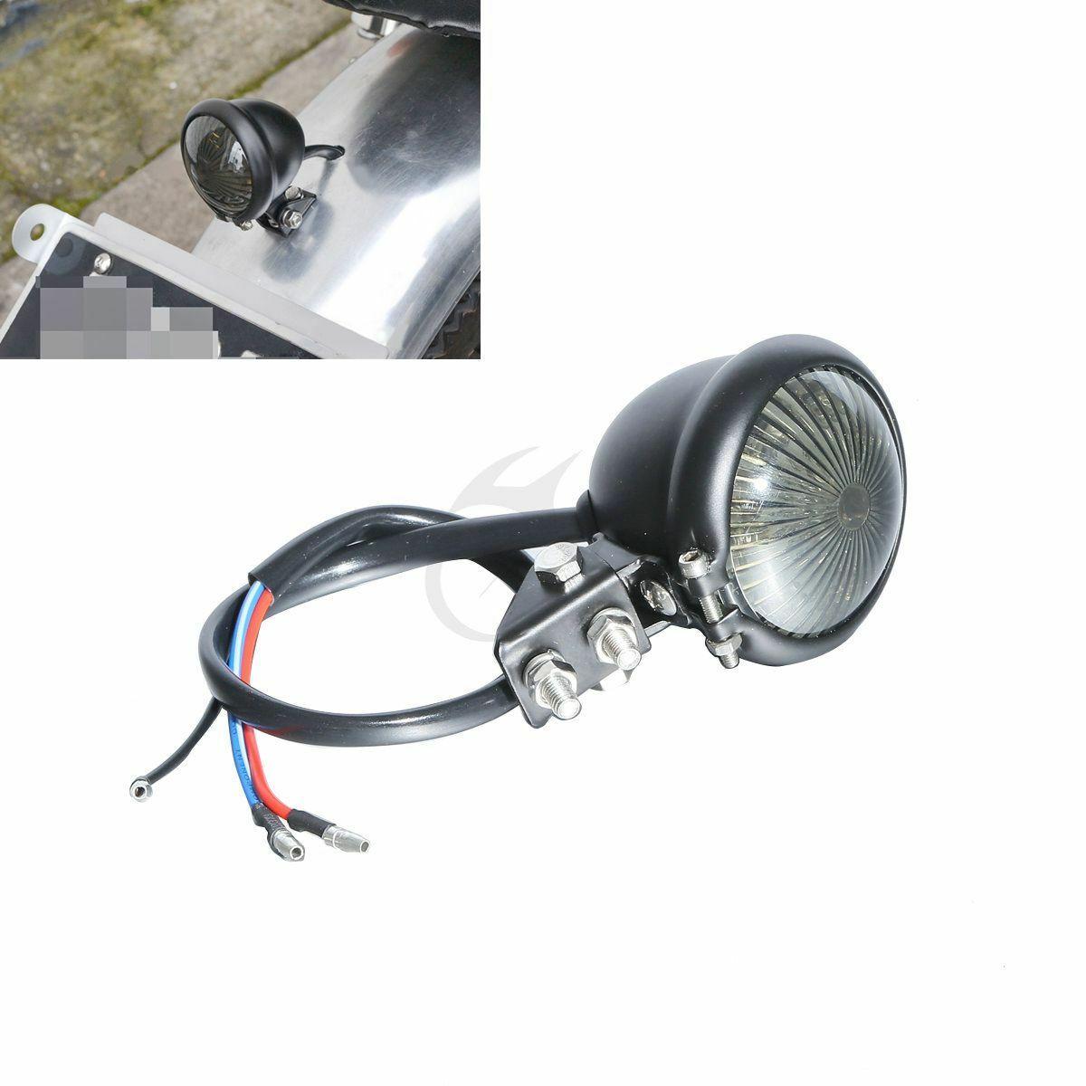 Motosiklet duman Mini Bate LED harley için arka stop Dyna Touring Chopper Bobber motosiklet title=
