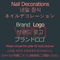 VIP01 10Psc/ружье гвоздя набора украшения смешанных золотистого металла Элитный бренд логотип DIY украшения Famous Luxury высокое качество