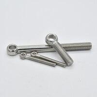 Parafuso de anel de aço inoxidável  304 peças gb798 anel de escorregamento  parafuso m6 m8 m10 m12