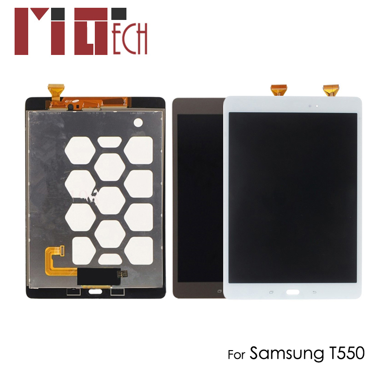 LCD Screen Touch Glass For Samsung Galaxy Tab A 9.7 SM-T550 T550N T555 Black