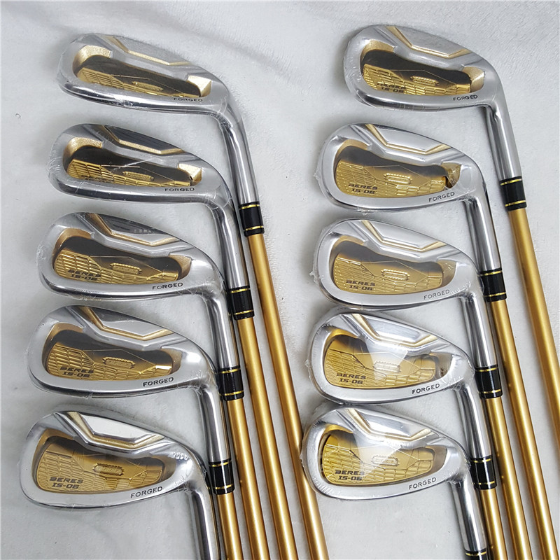 HONMA Golf Iron IS-06 4Star Golf Club Cover 4-11.A.S Graphite Shaft Golf Club Iron Set With Head Cover Free Shipping