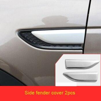 Per Land Rover discovery 2015-2019 chrome Auto esterno posteriore specchio tergicristallo maniglia della porta ciotola di copertura decorativa stampaggio trim