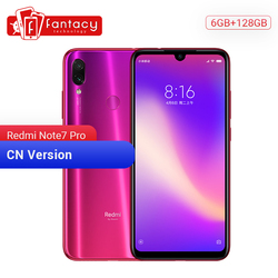 Original Xiaomi Redmi Note 7 Pro 6GB 128GB 48MP IMX 586 Cámara Snapdragon 675 Octa Core 6.3 Pantalla FHD Teléfono móvil 4000mAh