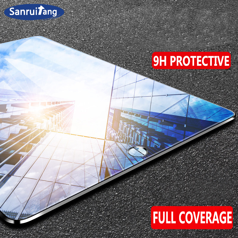 9D Curved Edge Screen Protector Glass For IPad 10.2 2019 Mini 5 4 Air 3 2 1 Tempered Glass Film For Pro 11 10.5 9.7 2017 2018