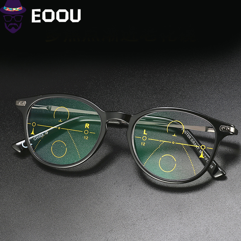 Progressive Reading Glasses Multifocal Frame Near And Far Eyewear