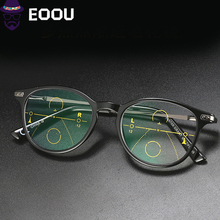 Progressive Reading Glasses Progressive Multifocal Reading Glasses Glasses Frame Near And Far Eyewear hot sale women reading glasses cat eye bifocal reader progressive multifocal lens diopter eyeglasses for near and far distance